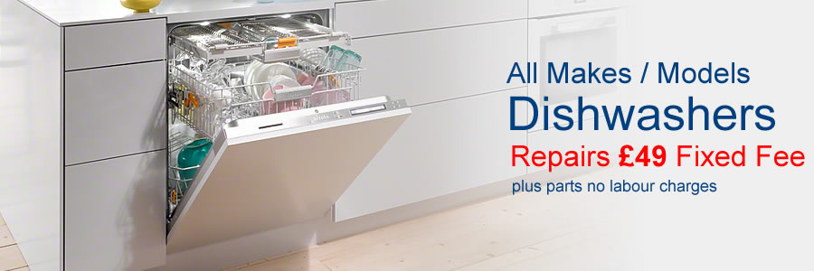 dishwasher repairs in Harrow